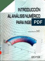 Introducción Al Analisis Numérico