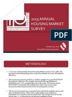 2015 Annual Housing Market Survey