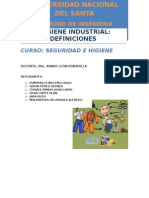 Higiene Industrial Trabajo