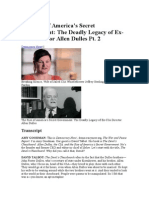 The Deadly Legacy of Ex-CIA Director Allen Dulles