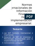 Implementacion en NIIF