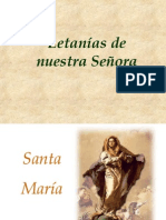 letanías lauretanas