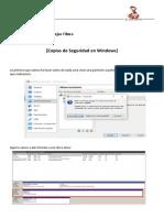 Copias de Seguridad en Windows 2008 Server