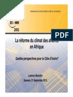 383_Climat Des Affaires en CI-2012