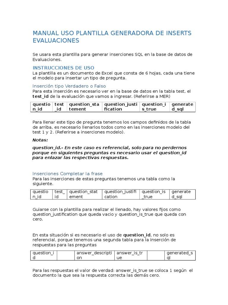 Manual Insercion de Evaluaciones