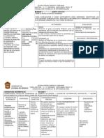 Planificación sexto grado primaria