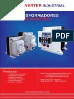 CATALOGO TRANSFORMADORES DE CONTROL.pdf