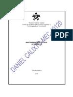 EVIDENCIA 029-ELABORACION Y PRUEBA DE UN FORMATO PARA LA RECEPCION DE EQUIPOS