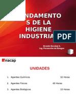 I Unidad .- higiene industrial