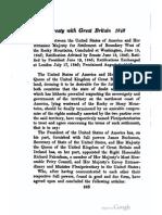 1846 Brittish Treaty [Oregon]