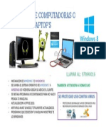 Publicidad sobre soporte tecnico