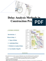 Delay Analysis 01
