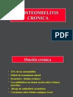 3- Osteomielitis Cronicas