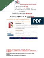 [FREE]Braindump2go Latest 70-470 Exam Questions 21-30