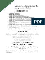 El Entrenamiento y La Práctica de Los Grupos Vitales - Witness Lee