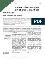 Direct Chromatographic Methods