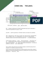 Funciones Del Teclado Jimena Universidad