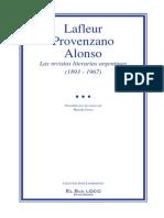 Sur en Revistas Literatias Argentinas (1893 - 967)