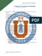 Modificación Reglamento de Docencia de Pregrado