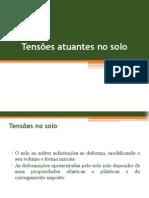 Tensões Atuantes No Solo _19!10!15MESO I_EC 2015-2
