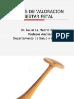 Tecnicas de Valoracion Del Bienestar Fetal