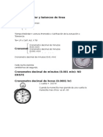 Estudio de Tiempos y Balanceo de Lineas 4ta Unidad