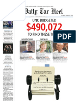 The Daily Tar Heel for March 23, 2010