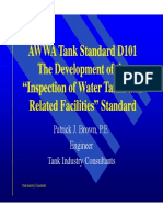 1105. AWWA Tank Standard D101