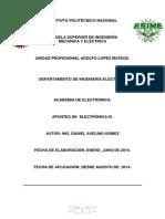 Apuntes de Electronica III Docx