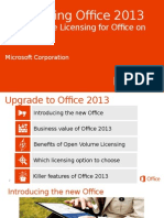 Introducing Office 2013 - Open VL