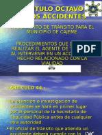 Presentacion de La Semana Intervencion Del Agente de Transito(1)