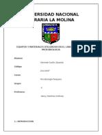 MICROBIOLOGIA EQUIPOS DE LABORATORIO