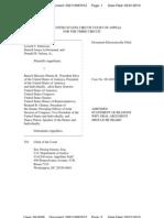 Kerchner v Obama Appeal - Request for Oral Argument - filed 21 Mar 2010