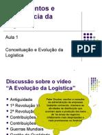 Aula 1 - Conceituação e Evolução Da Logística