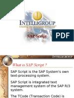 SAP-Scripts