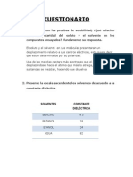 Informe 1 Laboratorio Quimica Organica