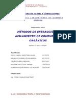 Informe 2 Labo Organica