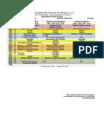 UNM Semestre 3 Tres Unidades. Plan Aprobado Sem Sep 2015