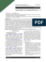 Embedded ARM Control Robotic Arm using BoaWeb server – a Survey