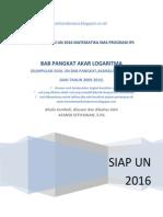 lesmatematikaindonesia Siap Un 2016 Mat Sma Ips Bab Pangkat Akar Logaritma