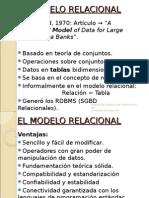 1.El Modelo Relacional