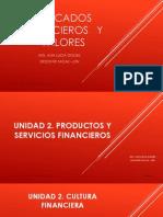 Unidad Tresproductos y servicios financieros Prod.y Servicios Financieros