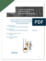Facultad de Ingeniería de Petróleo-Informe de fiscia 3