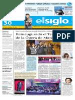 Edicion Impresa El Siglo 30-10-2015