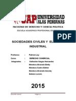 SOCIEDADES CIVILES y SOCIO INDUSTRIAL