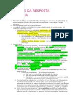 01 - Mecanismos Da Resposta Inflamatória