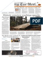 The Daily Tar Heel for Oct. 30, 2015
