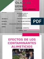 Efectos de La Contaminación de Alimentos (1)