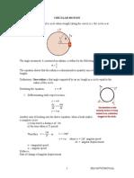 Ch 3 - Circular Motion