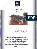 Presentation Solar Car